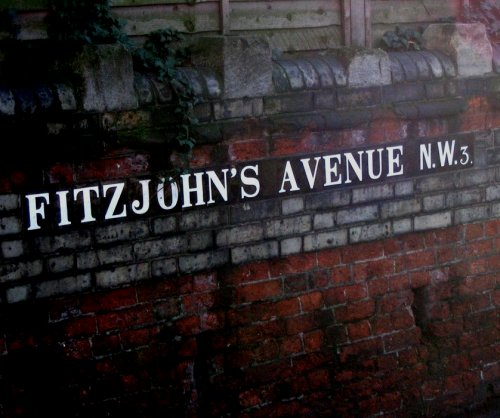 Fitzjohn's Avenue sign