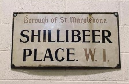 Shillibeer Place sign