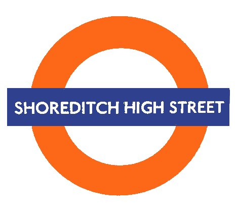 Shoreditch High Street roundel